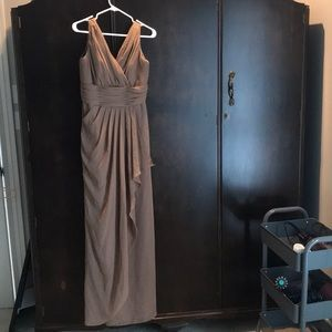 Gown brownish